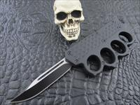 Delta Force Double action OTF Clip Point Knuckle Knife