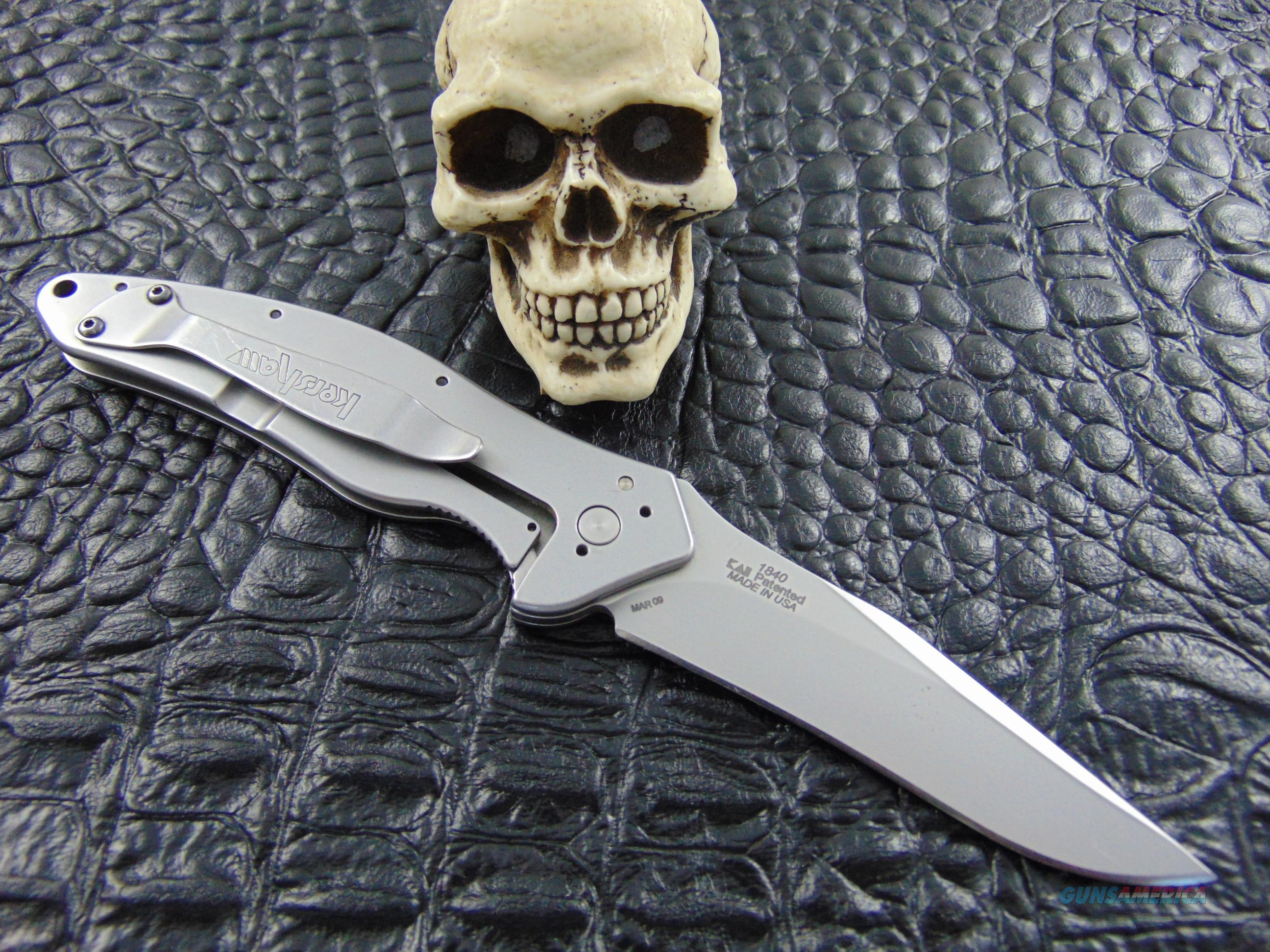 Kershaw Knives Schallot Model 1840 Made March 09 Ken Onion Design