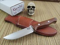 Bark River Knives Bravo Gunny Natural Canvas Micarta Handle