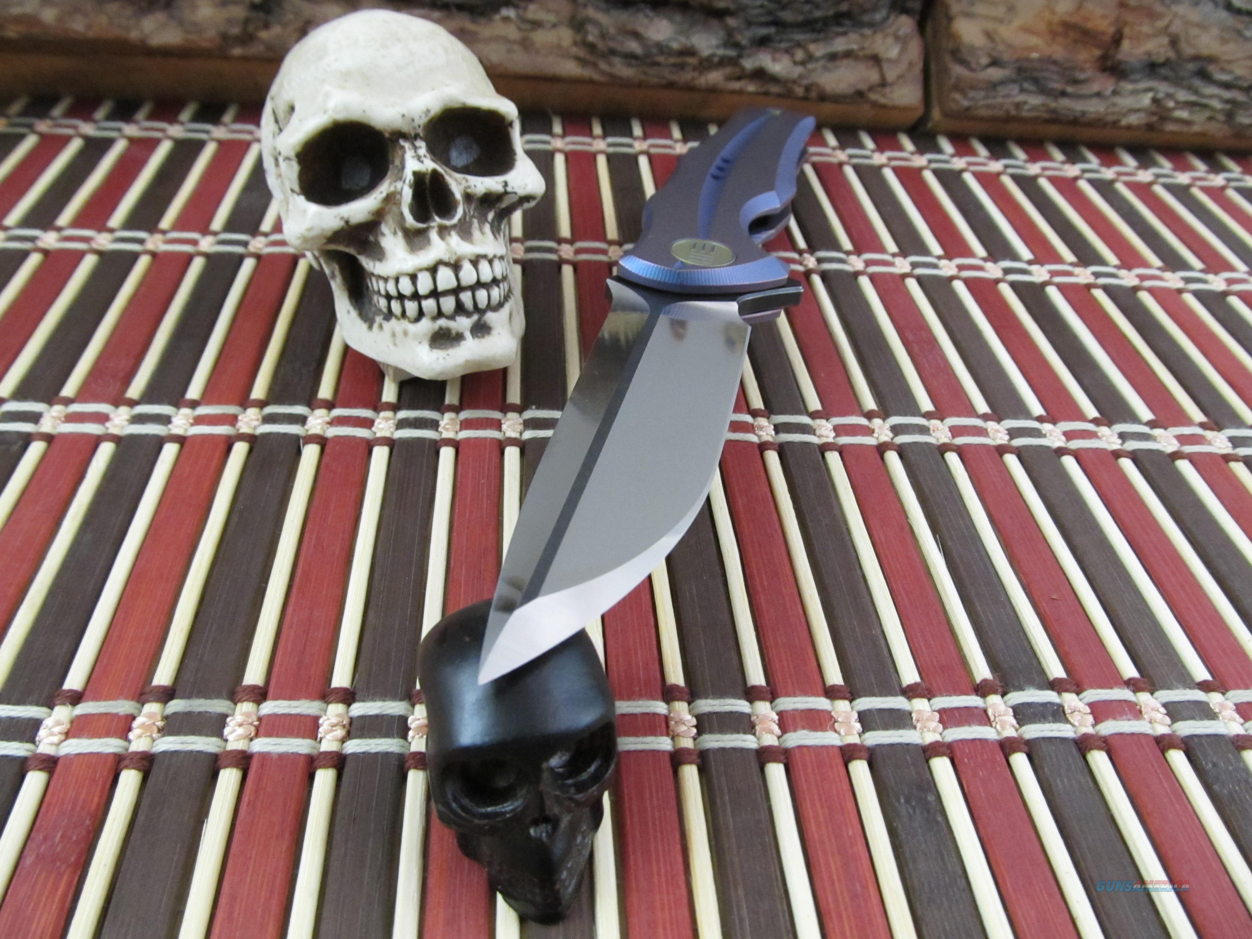 We Knife Co Flipper Folder Model 601 For Sale