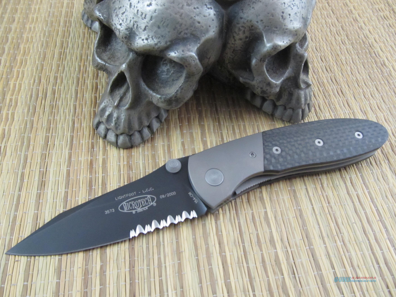 Microtech Knives Greg Lightfoot Design Generation 1 M/A Manual Action LCC  Non-Guns