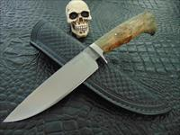 Milan Mozolic Custom Handmade Hand Forged Fighter, Hunting / EDC Knife