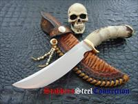 Unmarked Custom Handmade Stag Hunter / Skinner