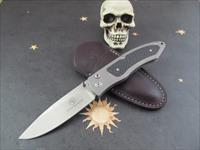 Arno Bernard Button Lock Folder W/ Carbon Fiber Inlays