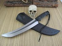 Giedymin Kapuscinski Knives Huge Tanto Style Fighter / Chopper