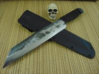 Wally Hayes MS-Master Smith Hand Forged Reverse Tanto / Chopper