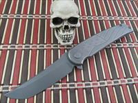 Sharp by Design Knives Brian Nadeau Owner / Maker Prototype Wavy Flag Hurricane