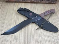 Outdoor Edge Knives Brush Demon Jerry Hossom Design