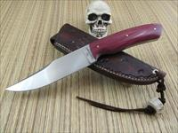 Kent Hix, Hix Hand Forged JS / Journeyman Smith Hand Forged Clip Point Hunter / EDC