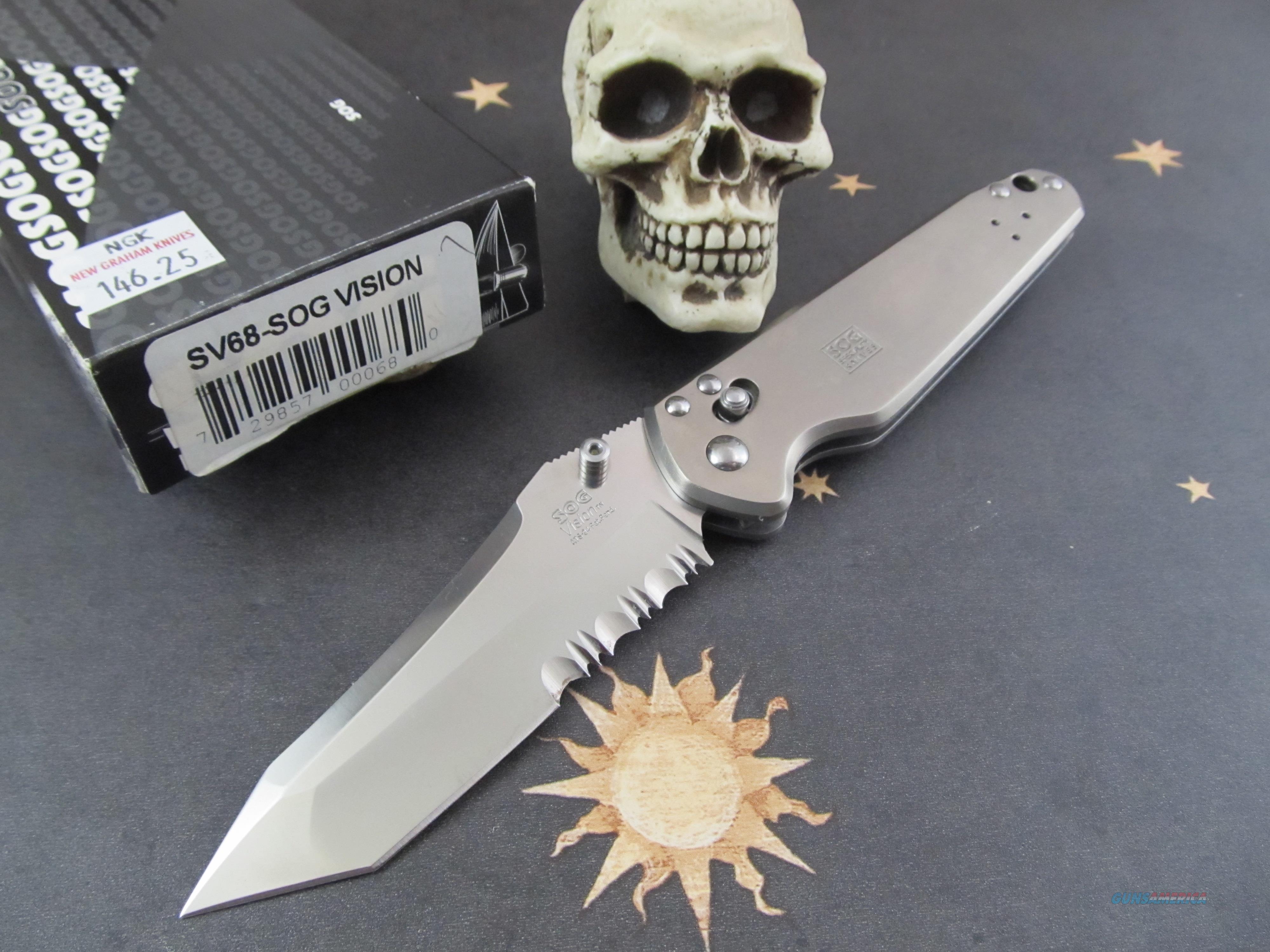 SOG Knives Vision SV68