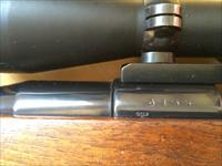 GERMAN MAUSER G 33/40 RIFLE 6MM with Nazi markings and Leupold scope
