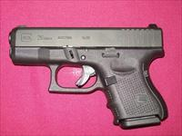 Glock Model 26 Generation 4 with Night sights