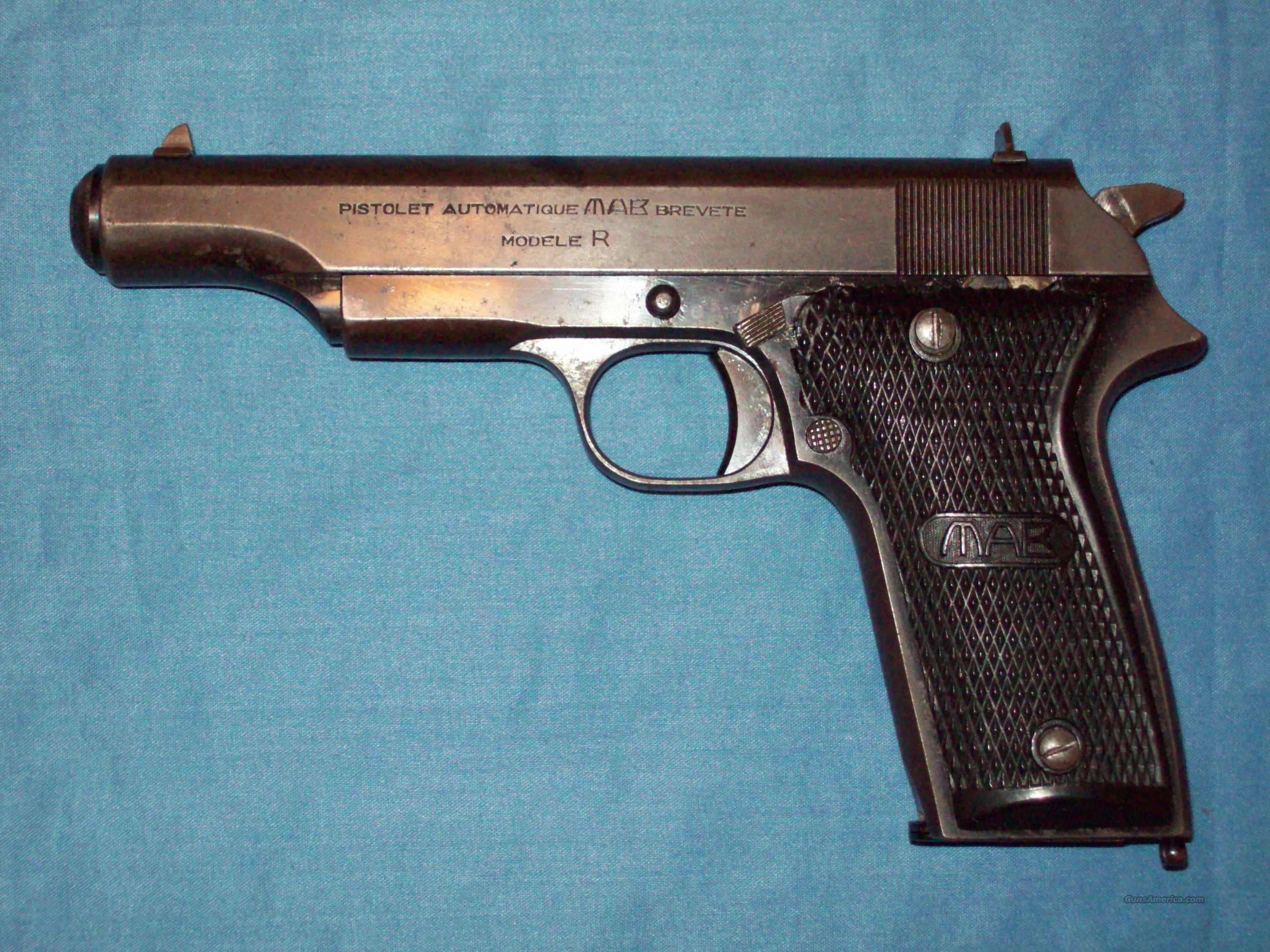 Mab Model R 9mm