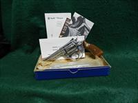 Smith & Wesson Model 34-1 Nickel