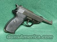 Walther P1 Commercial Version of P38