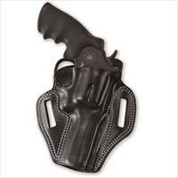 Galco CM158B Combat Master Belt Holster, Black – Smith & Wesson J-Frame, Right Draw