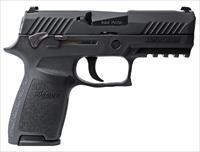 "Sig Sauer P320 Compact 9mm 3.9"" 15+1, Night Sights, Manual Safety - New in Case"
