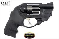 Ruger LCR 38 Special +P with LaserMax Laser & Hogue Grip