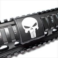 AR15/M4 Custom Picatinny Rail Cover – Punisher