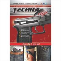 Techna Clip DBBR Gun Belt Clip – Diamondback DB9/DB380, Right Side