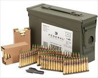 Federal 5.56 62 Grain Green Tip Ammunition - 420 Round Can