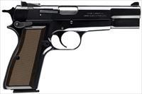 "Browning Hi Power Standard 9 mm 4.625"" 10+1 - CA Approved - New in Box"
