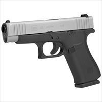 "Glock G48 Compact 9mm 4.17"" 10+1 Silver PVD Slide - New in Case!"