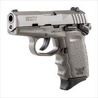 SCCY CPX-1 9mm Auto Pistol with Safety – Stainless/Sniper Gray