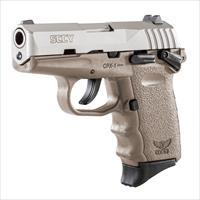 SCCY CPX-1 9mm Auto Pistol with Safety – Satin/FDE - New in Box