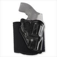 Galco AG158B Ankle Glove Ankle Holster – Smith & Wesson J Frame and Bodyguard Revolvers, Right Draw