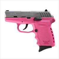 SCCY CPX-2 9mm Auto Pistol – Satin/Pink
