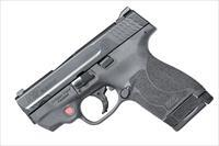 "Smith & Wesson M&P Shield M2.0 with Crimson Trace Red Laser .40 S&W 3.1"" 6+1/7+1 - New in Box"