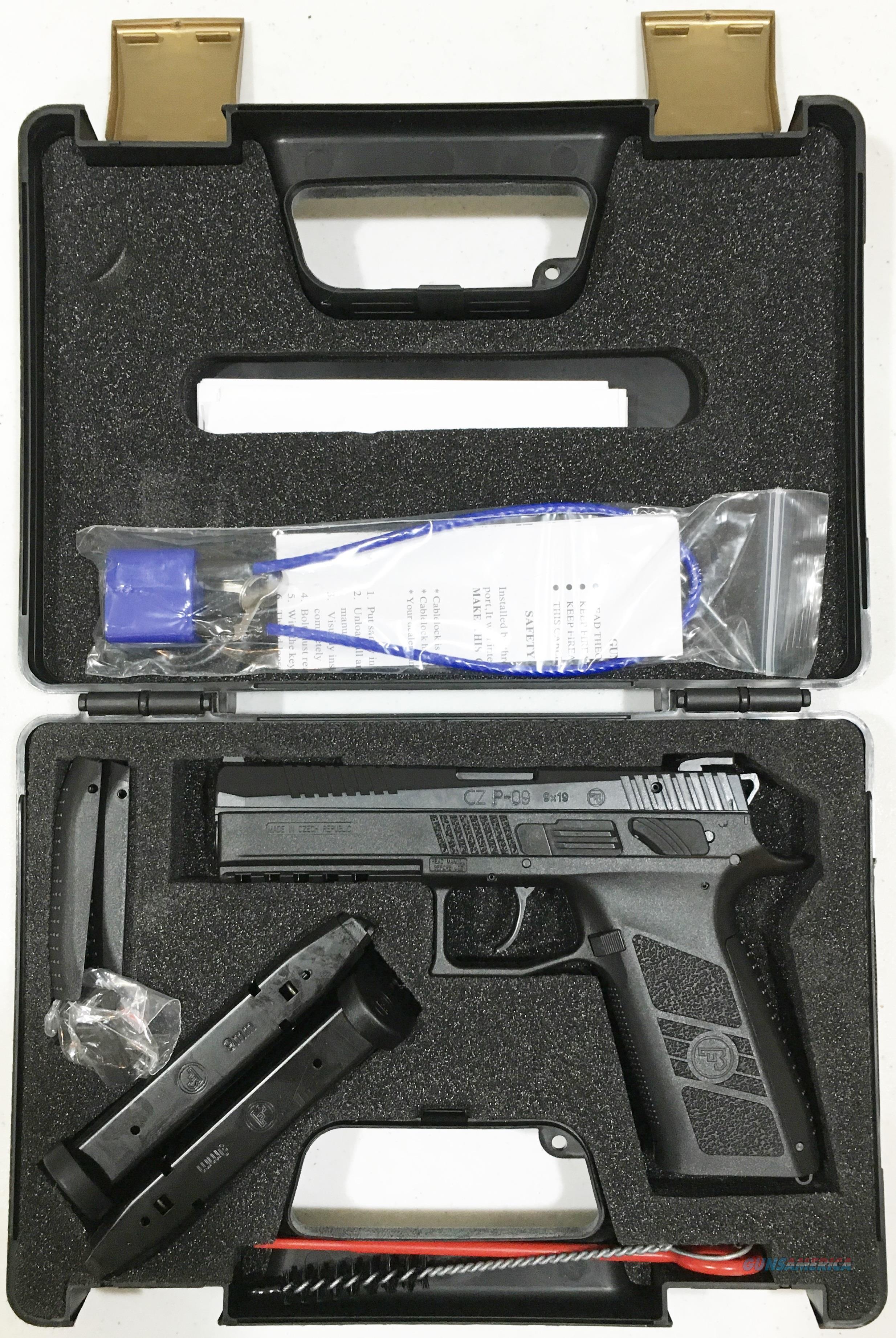 CZ P-09  40 S&W Pistol - New in Box