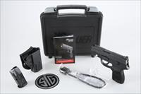 "Sig Sauer P250 Subcompact .40 S&W 3.6"" 10+1 - New in Case"