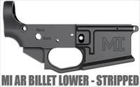 Midwest Industries AR15 Billet Lower, Closed Trigger