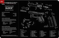 TEKMAT Armorers Bench Mat – Glock 42 and 43
