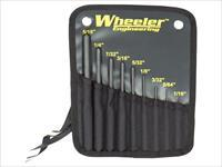 Wheeler Engineering 9-Piece Roll Pin Punch Set