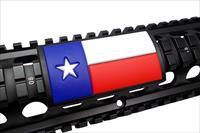 AR15/M4 Grip PVC Custom Picatinny Rail Cover – Texas Flag