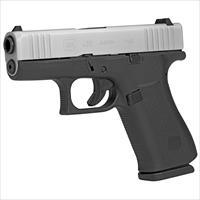 Glock G43X 9mm Luger with Silver PVD Slide - New in Case!