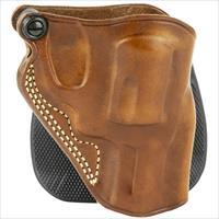 Galco SPD158, Speed Paddle Holster, Fits J Frame, Right Hand, Tan Leather
