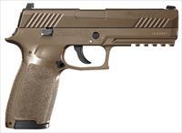 Sig Sauer P320 Air Pistol Semi-Automatic .177 Pellet/BB Coyote Tan