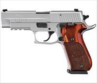 "Sig Sauer P220 Elite Stainless 45 ACP 4.4"" 8+1 Rosewood Grip - New in Box"