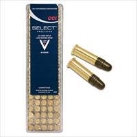CCI Select .22 LR 40 Grain Lead Round Nose – 100 Round Pack
