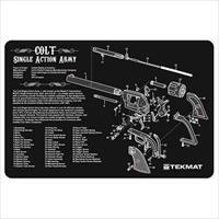TEKMAT Armorers Bench Mat – Colt Single Action Army® Revolver