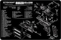 TEKMAT Armorers Bench Mat – Ruger LC9 & LC380