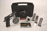 "Sig Sauer 1911 Nickel .45 ACP 5"" 8+1 - New in Box"