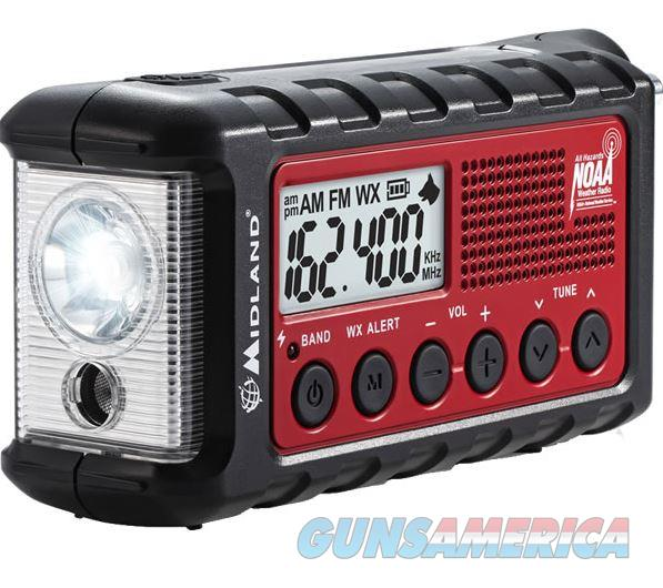 midland emergency crank radio w am fm weather for sale. Black Bedroom Furniture Sets. Home Design Ideas
