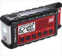 Midland Emergency Crank Radio w/ AM/FM/Weather Alert