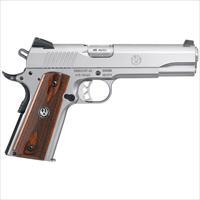 "Ruger SR1911 .45 ACP 5"" 8+1 Hardwood Grip - New in Box!"