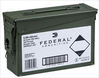 Federal XM193LCAC1 M193 5.56NATO 55GR FMJ 420 round Can